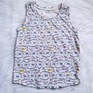 🌷Old Navy Printed Tank Top Size 5T💐